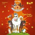 Hopp, hopp, hurra! / Die Haferhorde Bd.6 (2 Audio-CDs)