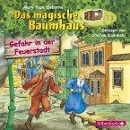 Gefahr in der Feuerstadt / Das magische Baumhaus Bd.21 (1 Audio-CD)