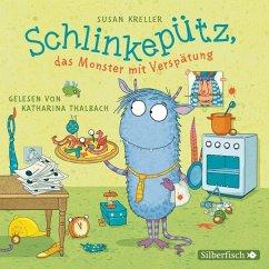 Schlinkepütz, das Monster mit Verspätung, 1 Audio-CD - Kreller, Susan