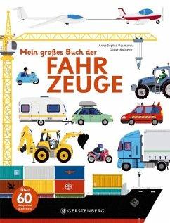 Mein großes Buch der Fahrzeuge - Baumann, Anne-Sophie