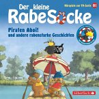 Der kleine Rabe Socke - Piraten Ahoi! und andere rabenstarke Geschichten, 1 Audio-CD