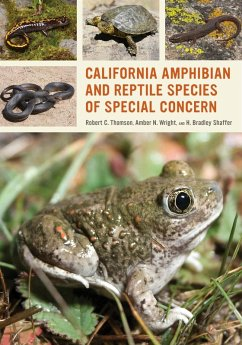 California Amphibian and Reptile Species of Special Concern (eBook, ePUB) - Thomson, Robert C.