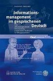Informationsmanagement im gesprochenen Deutsch (eBook, PDF)
