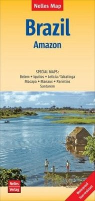 Nelles Maps Brazil: Amazon