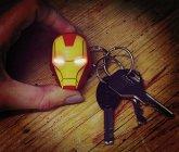 Iron Man Schlüsselanhänger mit Taschenlampe