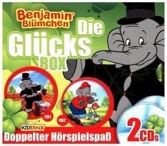 Benjamin Blümchen - Glücks-Box, 2 Audio-CDs