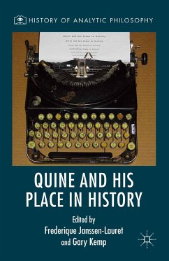 Quine and His Place in History (eBook, PDF)