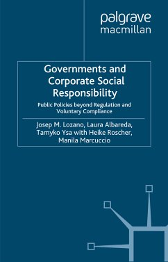 Governments and Corporate Social Responsibility (eBook, PDF)