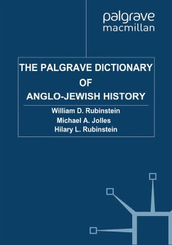 The Palgrave Dictionary of Anglo-Jewish History (eBook, PDF)