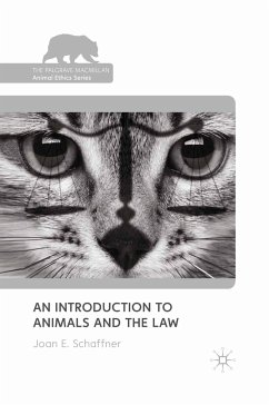 An Introduction to Animals and the Law (eBook, PDF)
