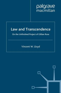 Law and Transcendence (eBook, PDF)