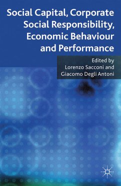 Social Capital, Corporate Social Responsibility, Economic Behaviour and Performance (eBook, PDF)