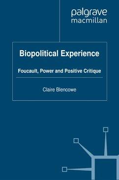 Biopolitical Experience (eBook, PDF)