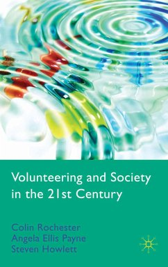 Volunteering and Society in the 21st Century (eBook, PDF)
