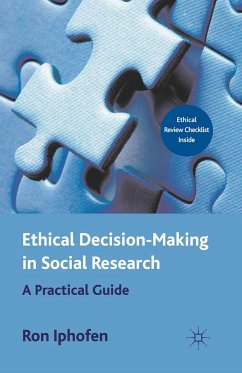 Ethical Decision Making in Social Research (eBook, PDF) - Iphofen, R.