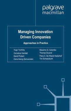 Managing Innovation Driven Companies (eBook, PDF)