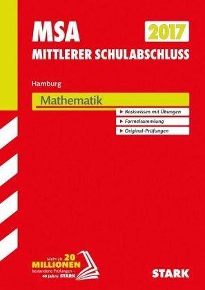 Mittlerer Schulabschluss Hamburg 2017 - Mathematik