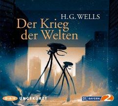 Der Krieg der Welten, 6 Audio-CDs - Wells, H. G.