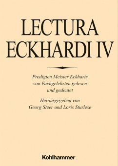 Lectura Eckhardi / Lectura Eckhardi 4, Bd.4 - Lectura Eckhardi