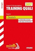 Training Quali Bayern 2017 - Deutsch Lösungsheft