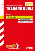 Training Quali Bayern 2017 - Englisch Lösungsheft