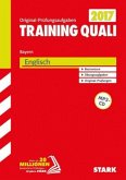 Training Quali Bayern 2017 - Englisch A4, mit MP3-CD