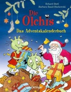 Die Olchis. Das Adventskalenderbuch - Dietl, Erhard;Iland-Olschewski, Barbara