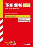 Training Abschlussprüfung Realschule Niedersachsen 2017 - Mathematik