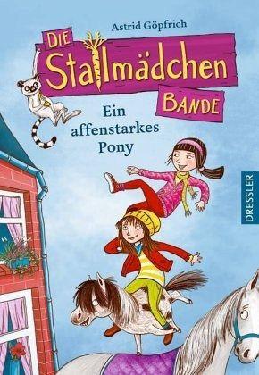 Buch-Reihe Die Stallmädchenbande