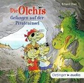 Gefangen auf der Pirateninsel / Die Olchis-Kinderroman Bd.10 (2 Audio-CDs)