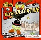 Eine rabenschwarze Drohung / Olchi-Detektive Bd.18 (1 Audio-CD)