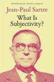 What Is Subjectivity? (eBook, ePUB)