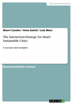The Interaction-Strategy for Smart Sustainable Cities (eBook, PDF)