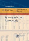 Synonymie und Antonymie (eBook, PDF)