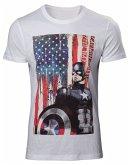 Captain America T-Shirt -2XL- American Flag