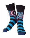 Marvel Socken 39/42 Captain America