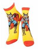 Marvel Socken -43/46- Thor, gelb/rot