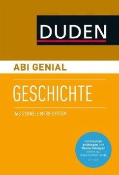 Abi genial Geschichte - Düppengießer, Krista; McGready, Joachim Ch.