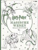 Harry Potter: Magische Wesen Malbuch