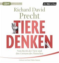 Tiere denken, 2 MP3-CDs - Precht, Richard David