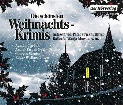 Die schönsten Weihnachtskrimis, 6 Audio-CDs - Christie, Agatha; Doyle, Arthur Conan; Wallace, Edgar