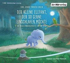 Der kleine Elefant, der so gerne einschlafen möchte, 1 Audio-CD - Forssén Ehrlin, Carl-Johan
