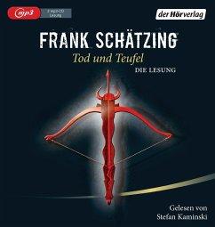 Tod und Teufel, 2 MP3-CD - Schätzing, Frank