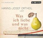 Was ich liebe - und was nicht, 2 Audio-CDs