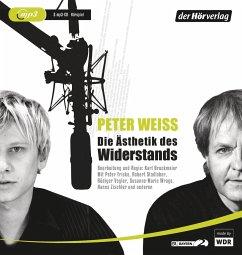 Die Ästhetik des Widerstands, 2 MP3-CDs - Weiss, Peter