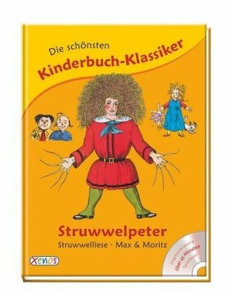 die sch nsten kinderbuch klassiker struwwelpeter struwwelliese max moritz buch. Black Bedroom Furniture Sets. Home Design Ideas