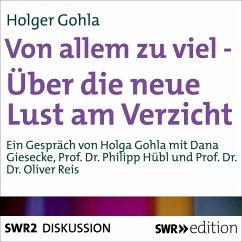 Von allem zu viel (MP3-Download) - Gohla, Holger