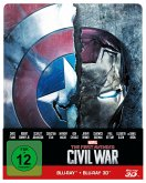 The First Avenger: Civil War 3D + 2D Steelbook