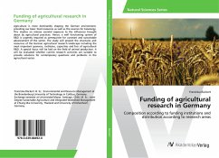 Funding of agricultural research in Germany