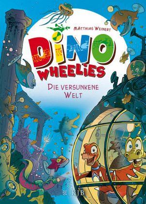 Buch-Reihe Dino Wheelies von Matthias Weinert